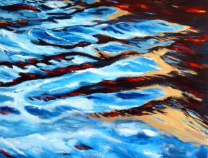 Ebb and Flow by Banx 1200x900mm MC5798 - SOLD