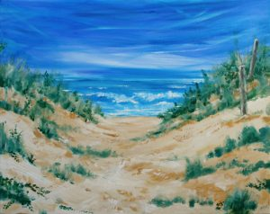 Gone to the Beach by Banx 750x600mm MC6262 - SOLD