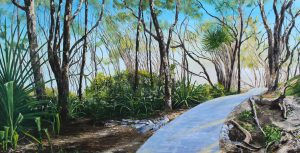 On the Way to Tea Tree Bay 1800x900mm MC6708 - SOLD