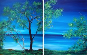 Pandanus - diptych by Banx 2@920x1200mm MC5163