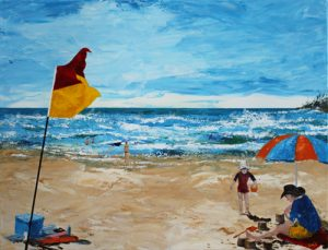 Sandcastles b y Banx 800x600mm MC6716 - SOLD