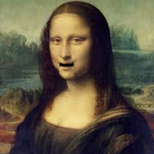 Image of Mont Python's Terry Gillums's Mona Lisa moving Mouth